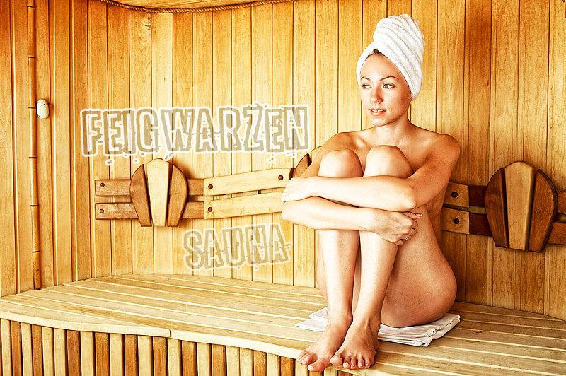 Feigwarzen: Mädchen in der Sauna