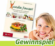 """Gewinnspiel """"Xunde Jause"""" - Kochbuch"""