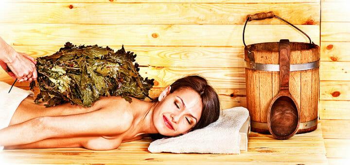 Gesundes Schwitzen: die Sauna