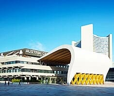 Austria Center Vienna - Austragungsort Brustkrebs-Kongress 2012