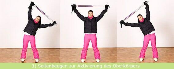 Stretching-Übung: Seitenbeugen