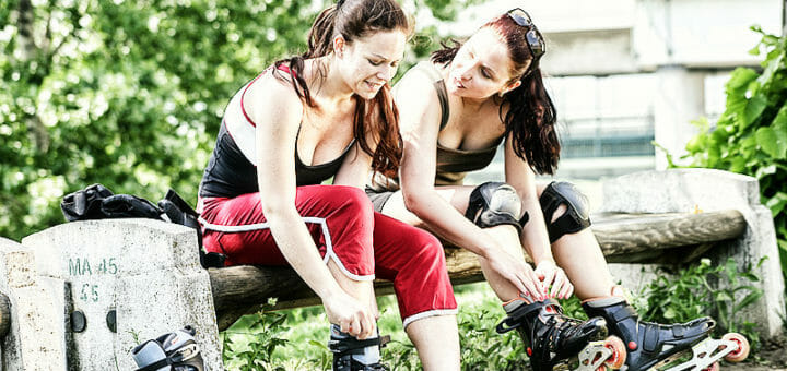 Skaten: Fatburner mit optimalem Kalorienverbrauch