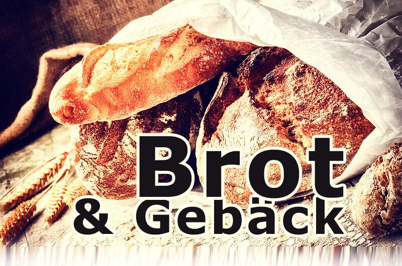 frisch gebackenes Brot & Gebäck