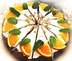 Orangen-Schoko-Torte | Rezept