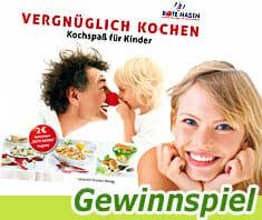 Kochbuch Vergnüglich Kochen - Gewinnspiel