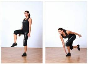 Balance-Übung - fit für die Piste