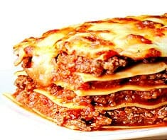 Lasagne kalorienarm - Rezeptfoto