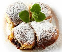 Powidl-Buchteln mit Vanillesauce | Rezept