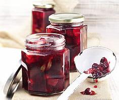 Cranberry-Birnen Marmelade Rezeptfoto