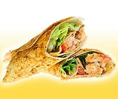 Chicken Wraps Rezeptfoto