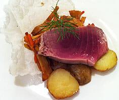 Thunfischsteak Rezeptfoto