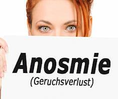 Anosmie, Geruchsverlust