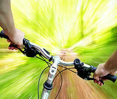 Mountainbiken - gesunder Actionspaß für Jung und Alt