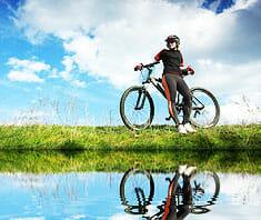 Warum Radfahren so gesund ist