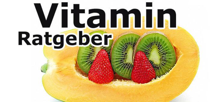 Vitaminratgeber - allgemeiner Überblick