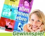 """""""Mit allen Sinnen leben"""" Buch Gewinnspiel"""