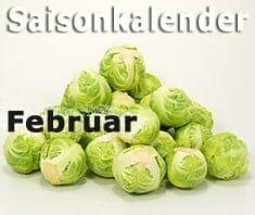 Saisonkalender Obst & Gemüse: Februar