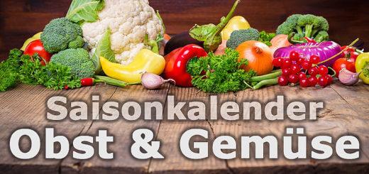 Saisonkalender Obst & Gemüse - wann gibts was in Österreich