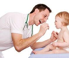 Halsschmerzen beim Kind