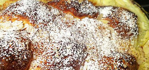 Brioche-Auflauf mit Vanillesauce | Rezept
