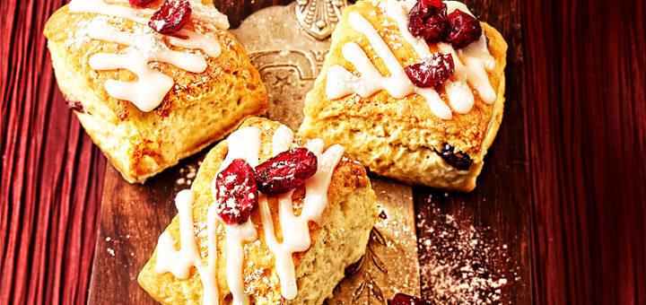 Kleine Adventstollen mit Cranberries | Rezept - Foto: cranberries-usa.at