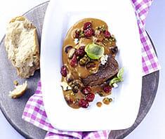 Rinderfiletsteak mit Gorgonzola-Pfeffer-Sauce | Rezept
