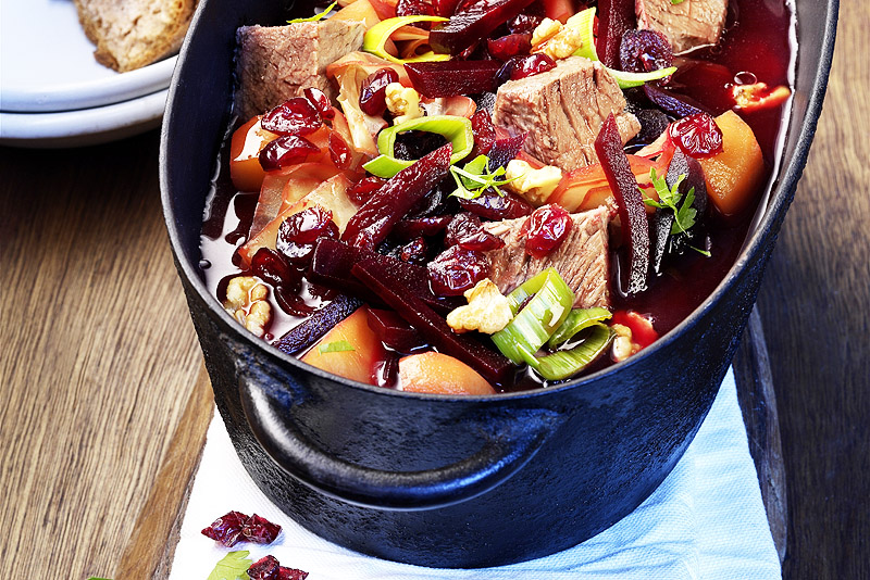 Borschtsch - Rote Rüben Suppe | Rezept