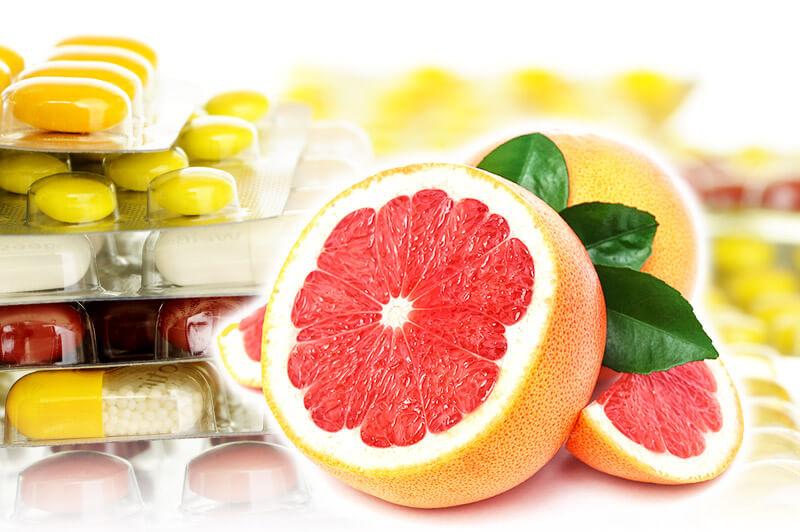 Grapefruit beeinflusst Wirkung von Medikamenten