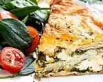 Börek mit Spinat-Feta-Füllung