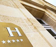Sternebewertung von Hotels & Restaurants