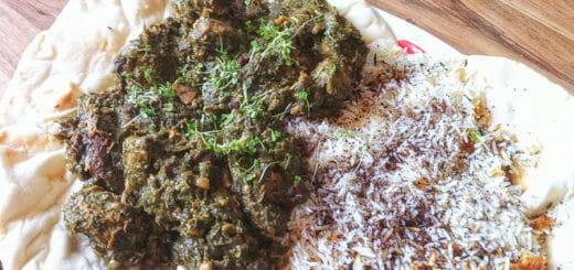 Ghorme sabzi (persischer Eintopf mit Lamm) | Rezept