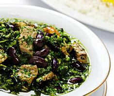 ghorme sabzi | rezept ? gesund.co.at - Persische Küche Vegetarisch