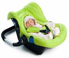Kindersitz im Auto - Sicherheitstipps