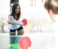Tischtennis – gesundes Rückschlagspiel für alle Altersgruppen
