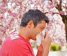 Allergiebeschwerden