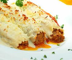 Cannelloni mit Fleischfüllung | Rezept