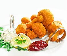 Gebackene Champignons | Rezept