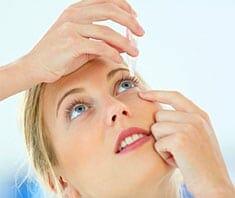 Trockene Augen - Symptome und Behandlung