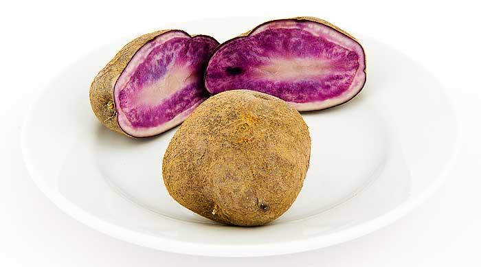 Kartoffel - rosa Fruchtfleisch