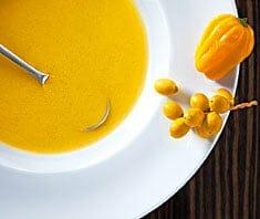 Gelbe Paprikasuppe - Rezept