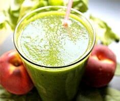 Gesunde Ernährung mit grünen Smoothies