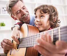 Musiktherapie fördert Gesundheit von Kindern