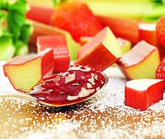 Rhabarber-Erdbeer-Marmelade | Rezept