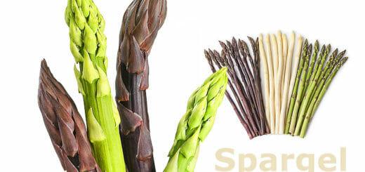 Spargel ist gesund – egal ob rot, weiß oder grün!