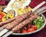 Kabab Kubideh - persischer Hackfleischspieß