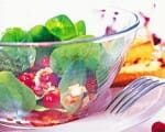 Spinatsalat mit Cranberries