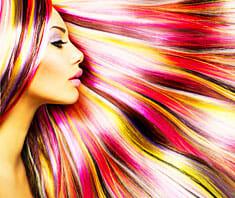 Haare färben - Coloration, Tönung
