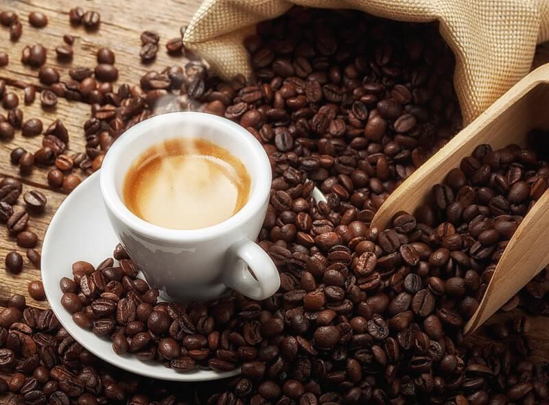 Kaffee frisch gebrüht
