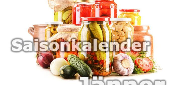 Saisonkalender Obst & Gemüse | Jänner