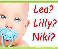Babynamen und Namensrecht